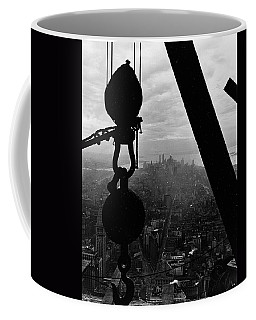 View Of Lower Manhattan From The Empire State Building Coffee Mug