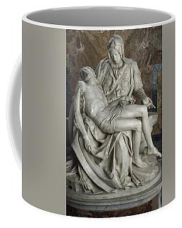 View Of Michelangelos Famous Sculpture Coffee Mug