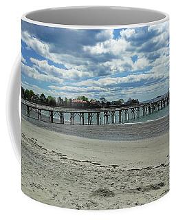 View Of Pier. Fisherman's Beach, Swampscott, Ma Coffee Mug