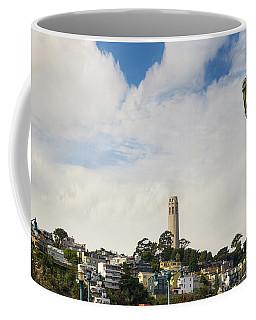 View Of Telegraph Hill Neighborhood San Francisco Coffee Mug