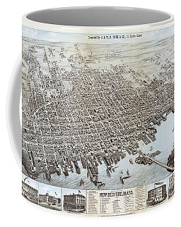 View Of The City Of New Bedford, Mass. Coffee Mug