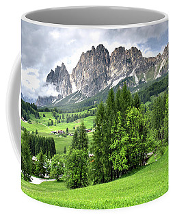View Of The Dolomites Coffee Mug