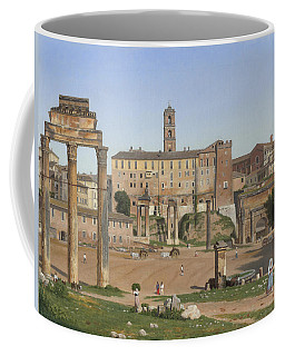 View Of The Forum In Rome Coffee Mug