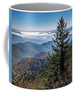 View Of The Great Smoky Mountains Coffee Mug