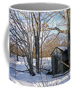 Coffee Mug featuring the photograph View Of The Past by Claire Bull