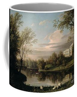 View Of The Pavlovsk Palace Coffee Mug
