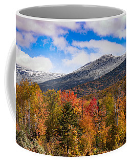 View Of The Presidential Mountains Coffee Mug