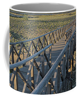 View Of The Wooden Bridge In Quinta Do Lago Coffee Mug