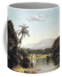 View On The Magdalena River Coffee Mug