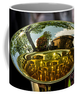 View Through A Sousaphone Coffee Mug by Kevin Fortier