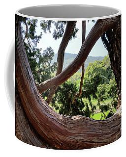 View Through The Tree Coffee Mug