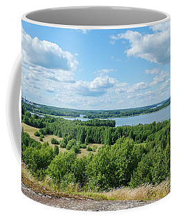View To Lake Lohjanjarvi Coffee Mug
