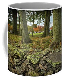 View Toward The Cemetery Coffee Mug