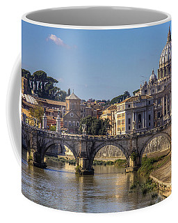 Coffee Mug featuring the photograph View Towards Saint Peter's Basilica by Spencer Baugh
