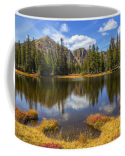 Coffee Mug featuring the photograph View Towards Notch Mountain by Spencer Baugh