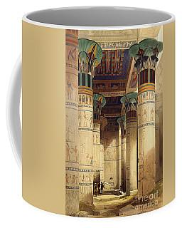 View Under The Grand Portico Coffee Mug