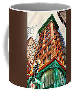 Coffee Mug featuring the photograph Views Of Boston by Adrian LaRoque