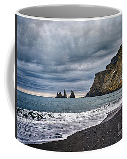 Vik Winter Wonderland Beach Coffee Mug