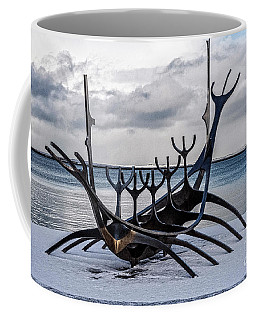 Viking Boat - Iceland Coffee Mug
