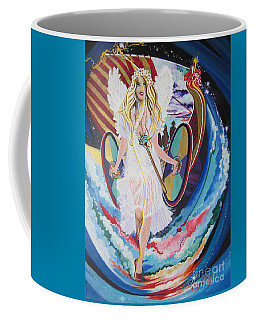Blaa Kattproduksjoner   Welcomes Viking Goddess  To  Egypt Coffee Mug