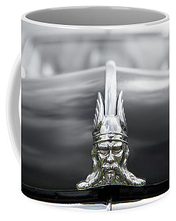 Viking Hood Ornament II Coffee Mug by Helen Northcott