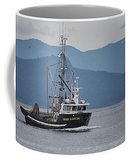 Viking Sunrise At Nw Bay Coffee Mug