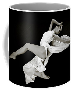 Coffee Mug featuring the photograph Viktory On Black by Rikk Flohr