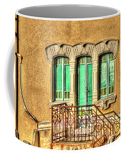 Coffee Mug featuring the photograph Villa Liberty 3 by Enrico Pelos