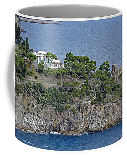 Villa Owned By Sophia Loren On The Amalfi Coast In Italy Coffee Mug by Richard Rosenshein