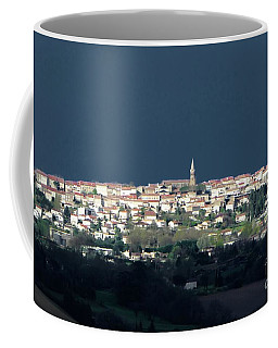 Village Before The Storm Coffee Mug