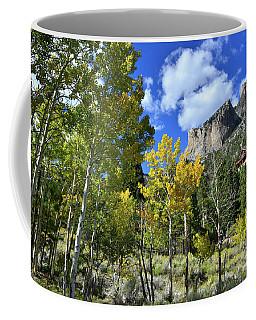 Village Beneath Mt. Charleston Coffee Mug