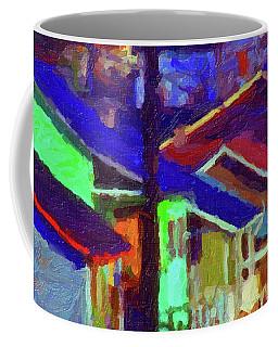 Village Houses Coffee Mug