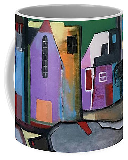 Village Near The City Coffee Mug