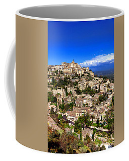 Village Of Gordes In Provence Coffee Mug by Olivier Le Queinec
