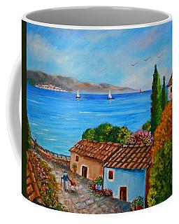 Village Perigiali - Greece Coffee Mug