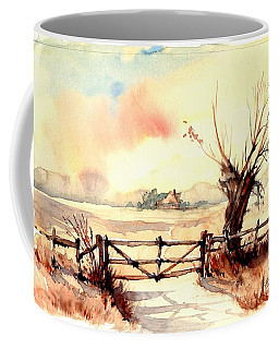Village Scene IIi Coffee Mug