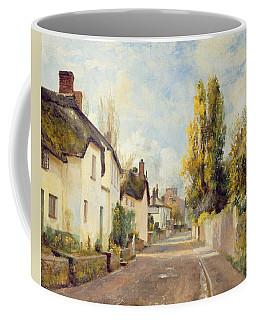 Village Street Scene Coffee Mug