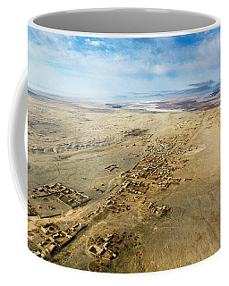 Village Toward Amu Darya River Coffee Mug