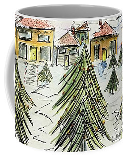 Village Winter Wonderland Coffee Mug