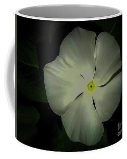 Vinca Bloom Night Glow Coffee Mug