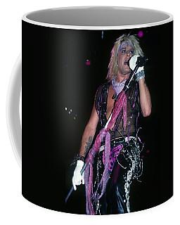 Vince Neil Of Motley Crue Coffee Mug