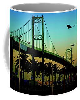 Vincent Thomas Bridge Coffee Mug