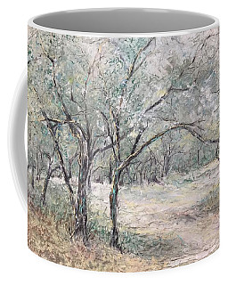 Vincents Olive Trees 2 Coffee Mug