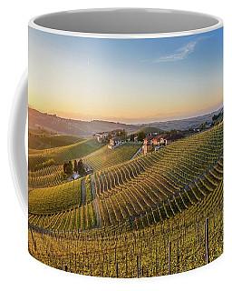 Vineyard At Barbaresco, Italy Coffee Mug