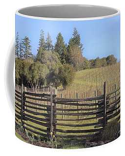 Vineyard In The Spring Coffee Mug
