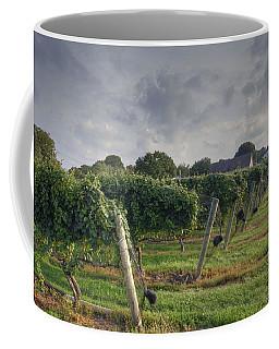 Vineyard With  Barn Coffee Mug