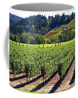 Vineyards In Sonoma County Coffee Mug