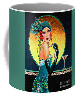 Vintage 1920s Fashion Girl  Coffee Mug