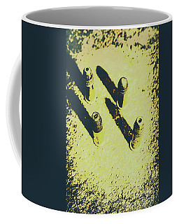Vintage Army Scene Coffee Mug