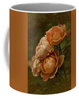 Vintage Aug Roses Coffee Mug
